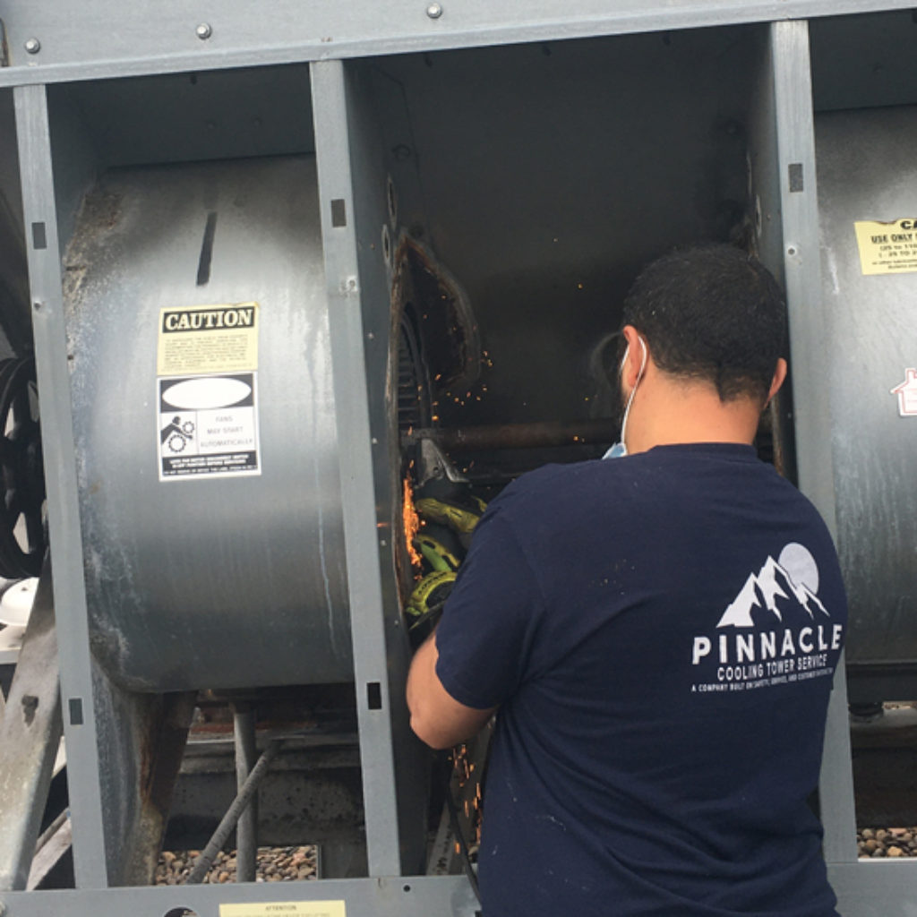Cooling Tower Experts In New Jersey At Work Pinnacle Cts